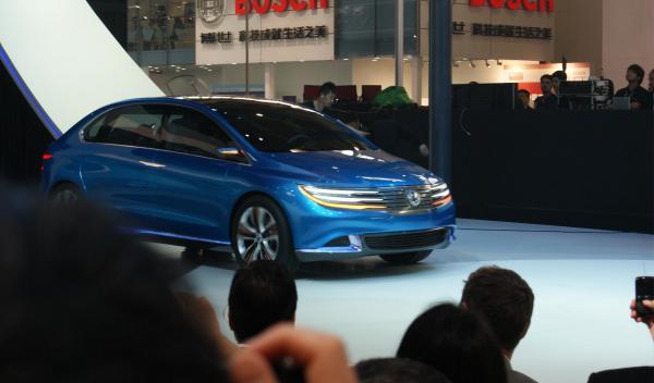 Denza NEV Concept en el Salón de China 2012