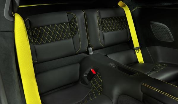 Porsche 911 Techart interior trasero