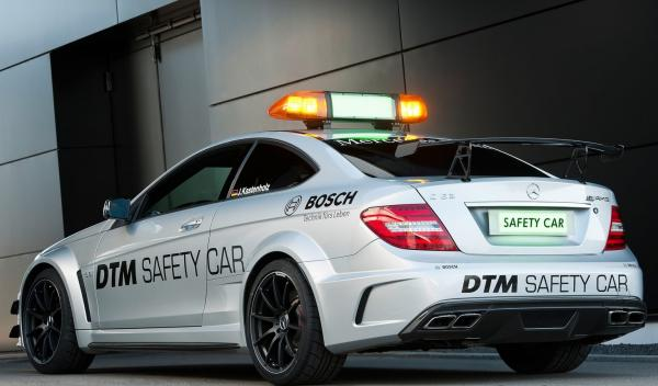 Mercedes C63 AMG Coupé Black Series DTM Safety Car zaga