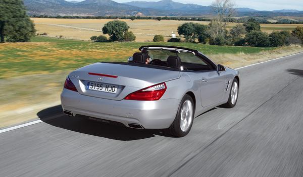 Mercedes SL 350 aire