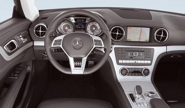 Mercedes SL 350 salpicadero