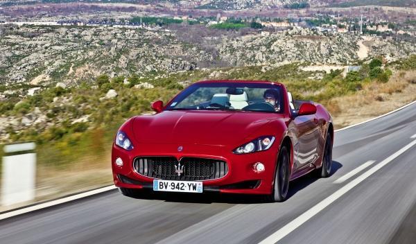 Maserati GranCabrio Sport dinámica frontal