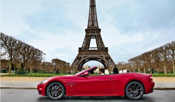 Maserati GranCabrio Sport estática lateral