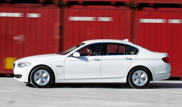BMW Serie 5 lateral