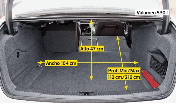 Audi A6 maletero