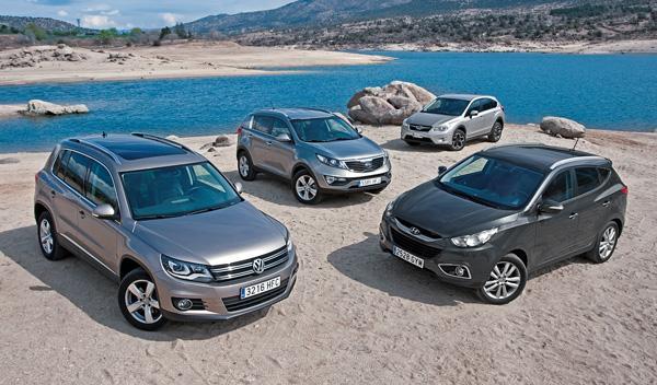 Hyundai-ix35-Kia-Sportage-Subaru-XV-VW-Tiguan