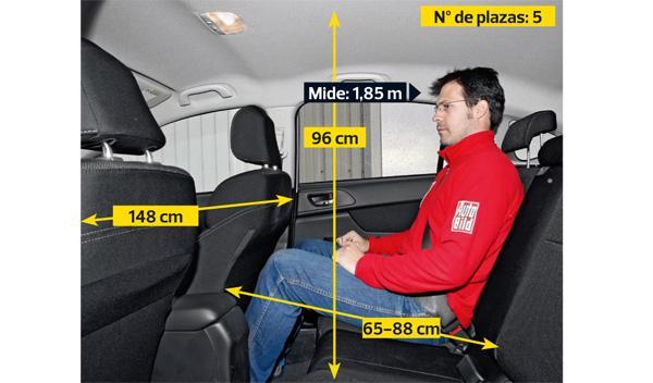 Subaru-XV-plazas traseras
