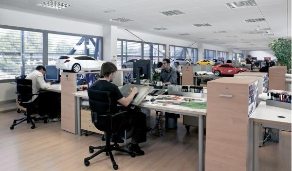 Departamento de Diseño del Centro de Diseño de Seat en Martorell