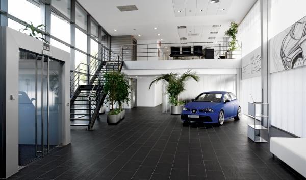 Entrada del Centro de Diseño de Seat en Martorell