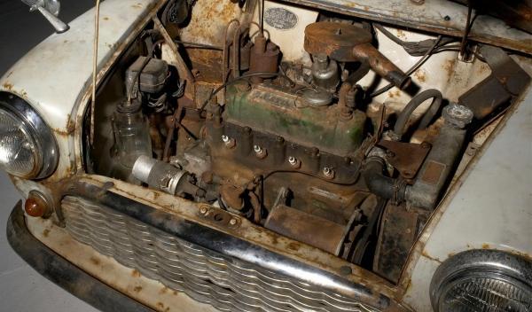 Motor mini 1959
