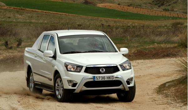 Ssangyong Actyon Sports pick-up frontal