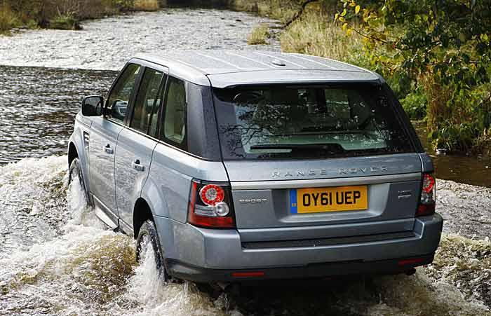 Range Rover Sport SDV6 trasera