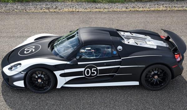 Porsche 918 Spyder perfil