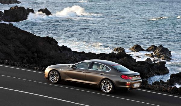 BMW Serie 6 Gran Coupé estática trasera