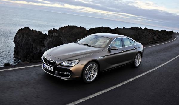 BMW Serie 6 Gran Coupé dinámica frontal