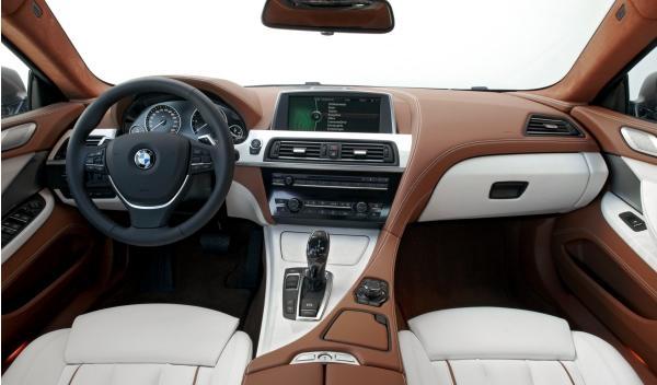 BMW Serie 6 Gran Coupé interior salpcadero