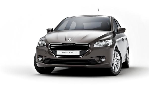 Peugeot 301, frontal