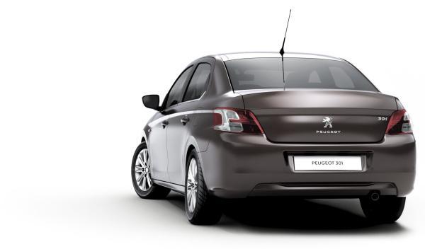 Peugeot 301, tres cuartos trasero
