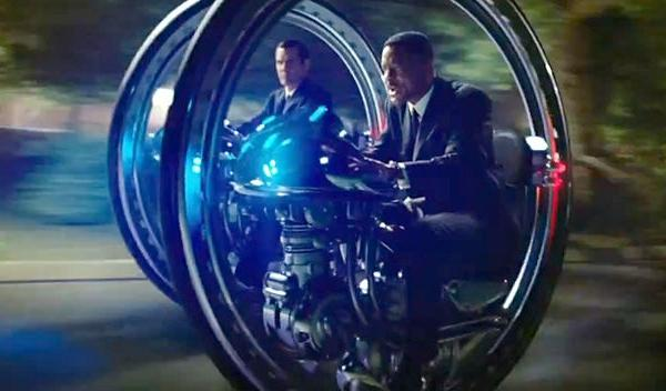 Monocycle de Men in Black