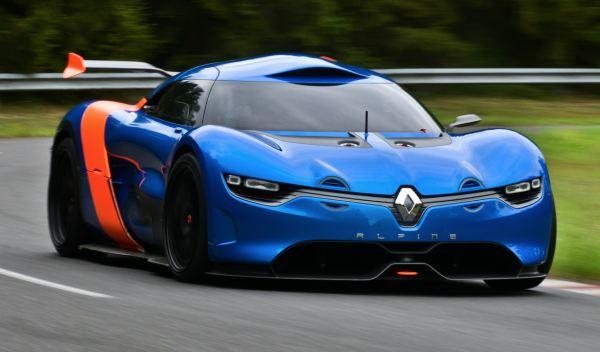 Alpine A110-50 frontal