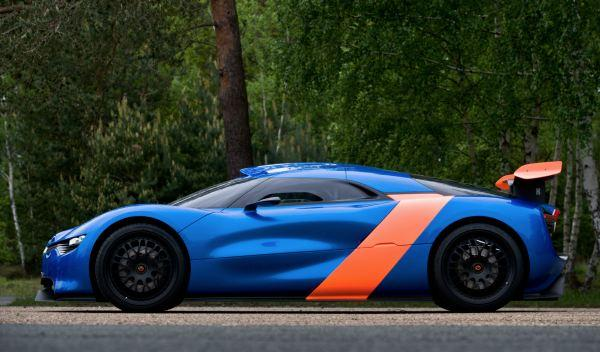 Alpine A110-50 lateral