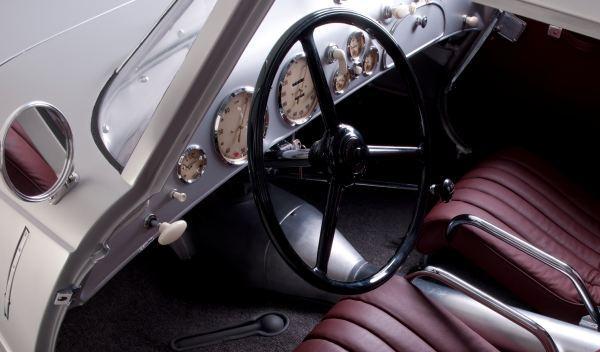 BMW 328 Kamm Coupé salpicadero