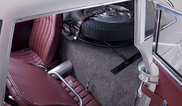 BMW 328 Kamm Coupé interior