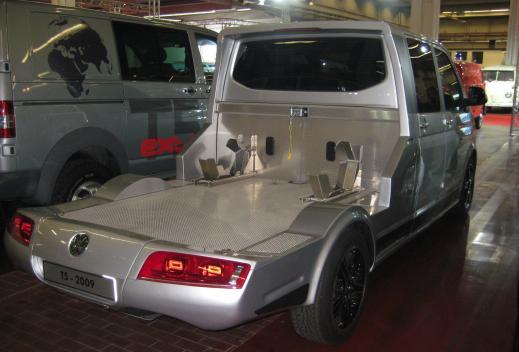 Prototipo T5 'Porta motos'