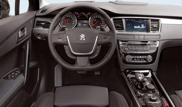 Interior del Peugeot 508 RXH