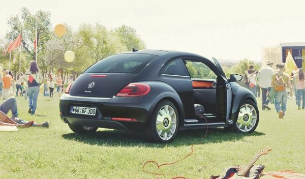 volkswagen beetle fender edition trasera
