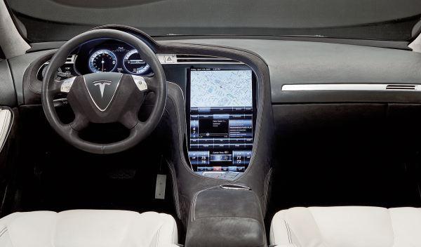 Tesla Model S salpicadero