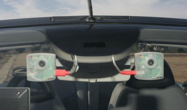 El proyecto Autopía del CSIC utiliza un sistema de visión artificial de la UAH