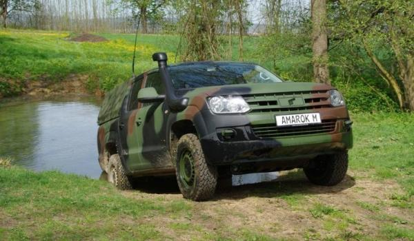 Nuevo Volkswagen Amarok M militar