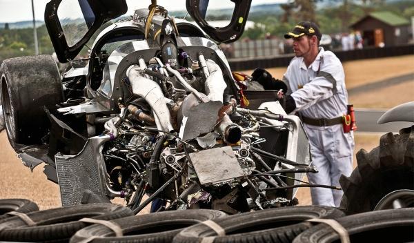 Accidente en 24 Horas de Le Mans 2012