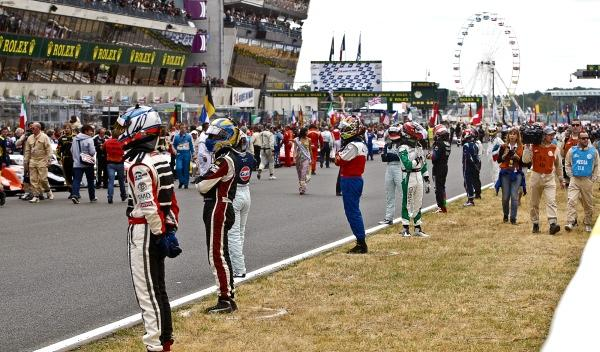 El sistema de salida 24 Horas de Le Mans 2012