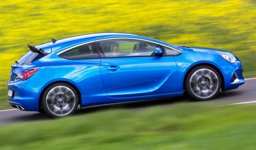 Opel Astra OPC Exterior lateral