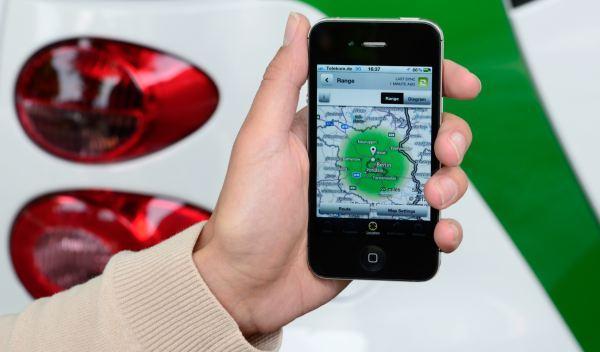 Smart electric Drive 2012 detalle app