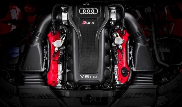 Audi RS 4 motor FSI 450 CV