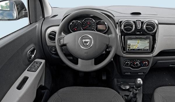 Interior del Dacia Lodgy