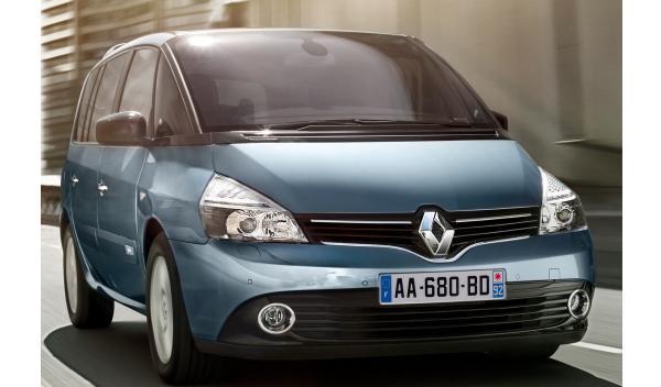 Renault Espace 2013 parrilla