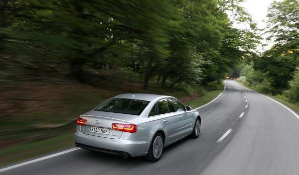 Audi A6 Hybrid exterior trasera