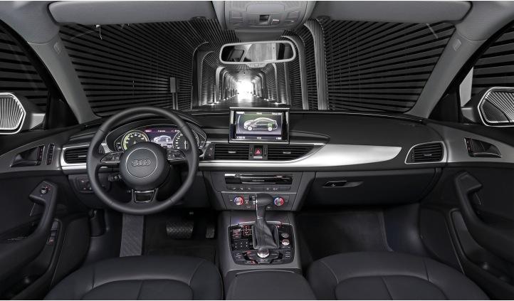 Audi A6 Hybrid interior