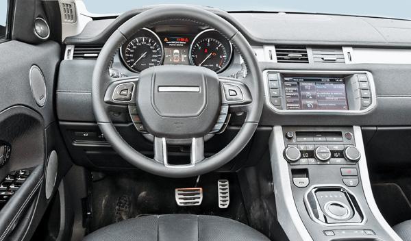 Range Rover Evoque salpicadero