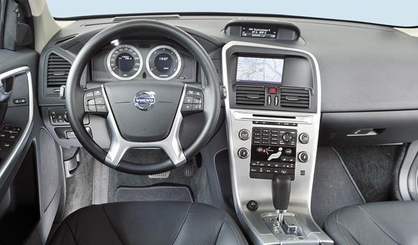 Volvo XC60 salpicadero