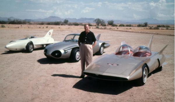 Los prototipos de GM de finales de los años 50 centro de diseño de GM