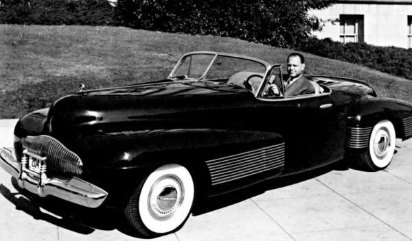 El Buick Y-Job de 1938 centro de diseño de GM