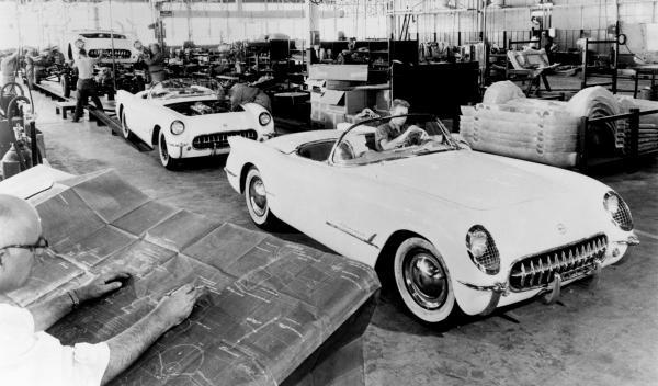 Los primeros Chevrolet Corvette centro de diseño de GM