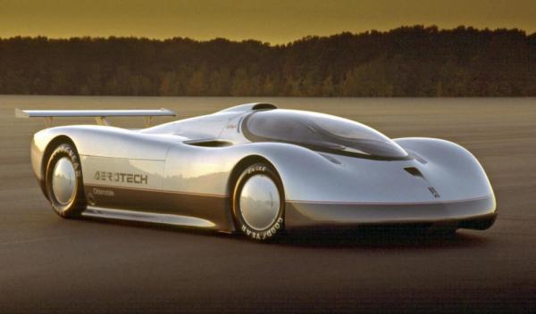 Oldsmobile Aerotech centro de diseño de GM