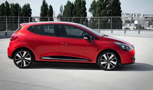 Renault Clio 2012 exterior lateral