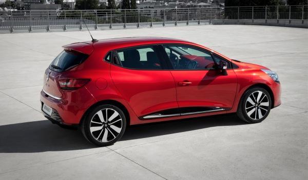 Renault Clio 2012 exterior trasera